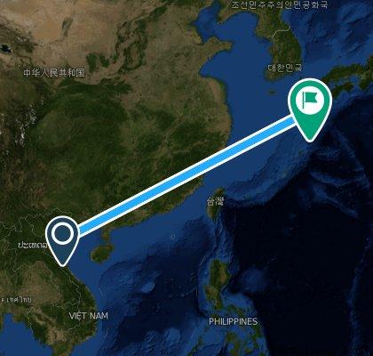 ride from (null) to Satsumasendai