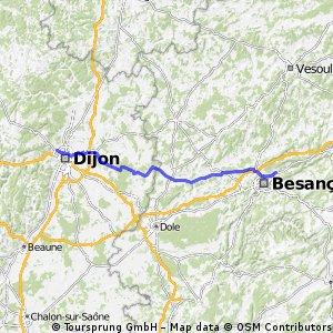 5. Von Besancon nach Dijon