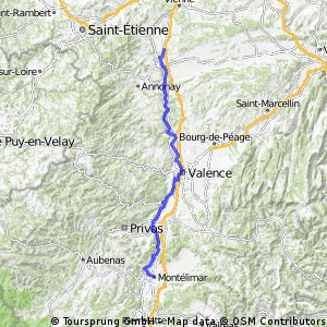 Montelimar to Rousillion