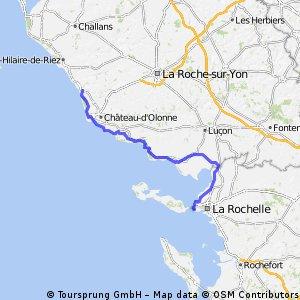 16. Von Brem-sur-Mer nach La Rochelle