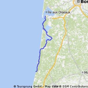 16. Von Arcachon nach La Lettre Blanc-Vielle