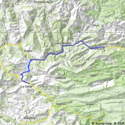 2016 Ride Day 78 - Castellane to Puget-Théniers