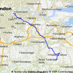 015 March 24th: London to Marden