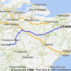 016 March 25th: Marden to Canterbury