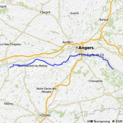 Gennes Tours Bikemap Your Bike Routes