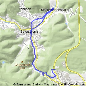 Schwarzwald Wanderung : Tag 1. von Christophtal in die Murgtal