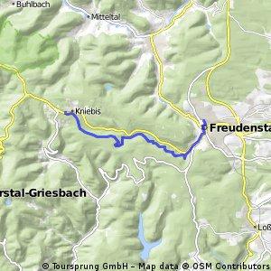 Schwarzwald Wanderung: durch das schöne Forbachtal