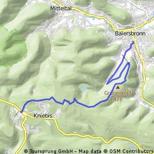 Schwarzwald Wanderung: zum Glasmännlehütte