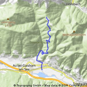 Kurze Radrunde von Gaishorn am See nach Johnsbach