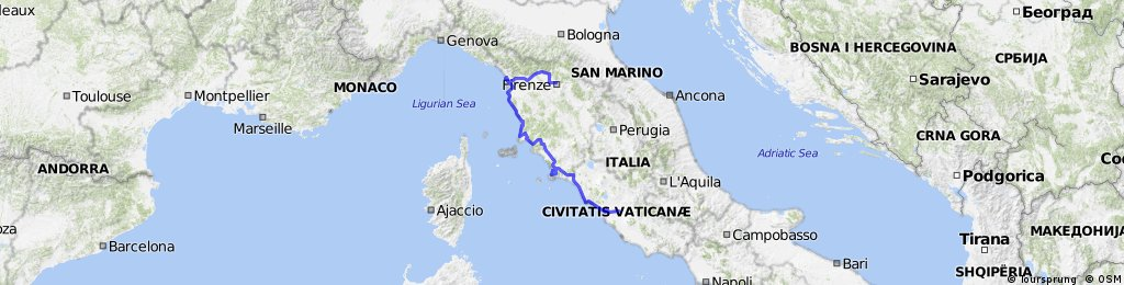 Bavaria to Rome - Part Three