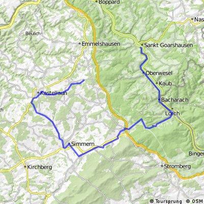 Lingerhahn-Simmern-Niederheimbach St. Goar
