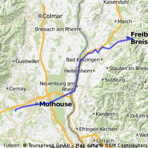1 - Rhone 01 - 68 km - Freiburg bis Heimsbrunn