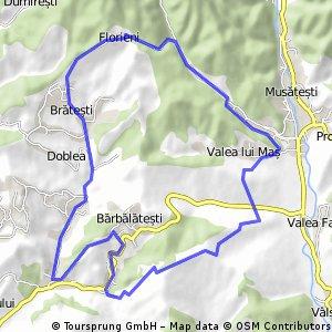Valea Iasului - Florieni- Robaia-Manga- Barbalatesti