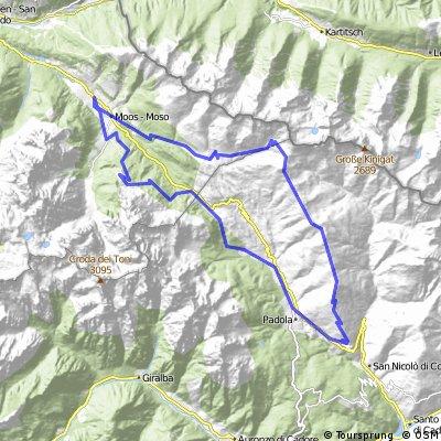 """1. """"Trailsüchtig"""" Monte Spina - Duck Corner Trail"""