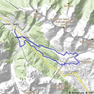 4. Highlandtour zur Coltrondoalm