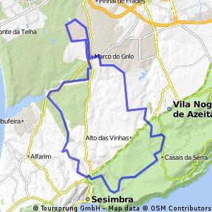 Passeio 50k - Bike Hotel Quinta da Valenciana