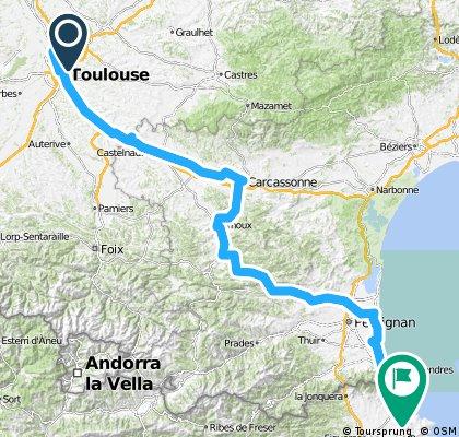 Montberon to Cerbere