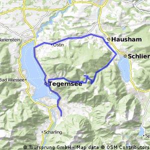 Long bike tour through Hausham