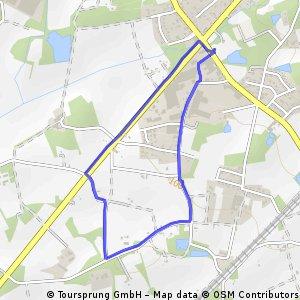 Short ride through Bielefeld