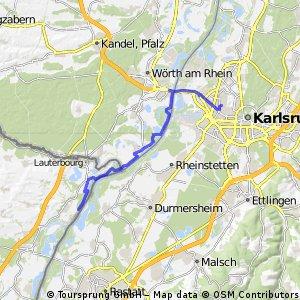 Rheinrunde flach