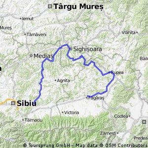 Sibiu - Sighisoara - Fagaras