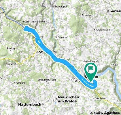 Ö-Inzell Camping-Stiftskirche Engelszell-Inzell