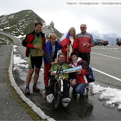 Hochalpenstrasse Grossglockner na handbiku