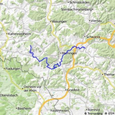 HOHE GEBA über Stillhäusle und Neidhardskopf (Hinweg)