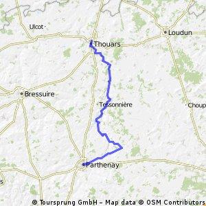 9 Thouars-Parthenay