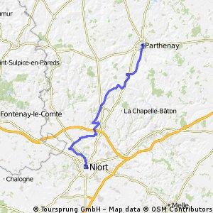 10 Parthenay-Niort