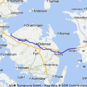 KPH-TIE - dag 3 - Korsor - Middelfart (Baringskov)