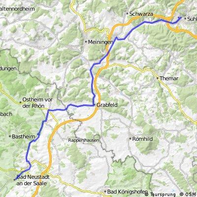 Suhl - Bad Neustadt