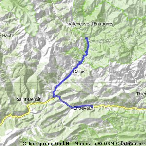 2016 Ride Day 80 - Puget-Théniers to Guillaumes