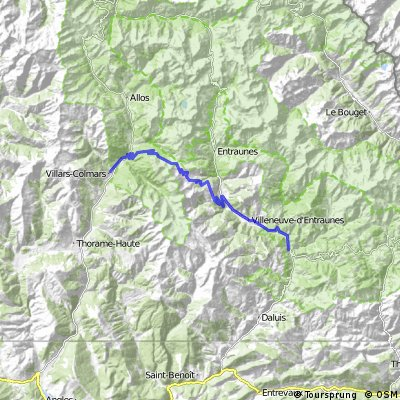 2016 Ride Day 81 - Guillaumes to Villars-Colmars