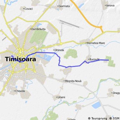 Timișoara - Parcul Dentrologic Bazosu nou (plecare de pe Zalau nr.4 - home)