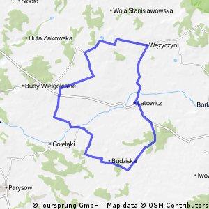 bike tour through Latowicz