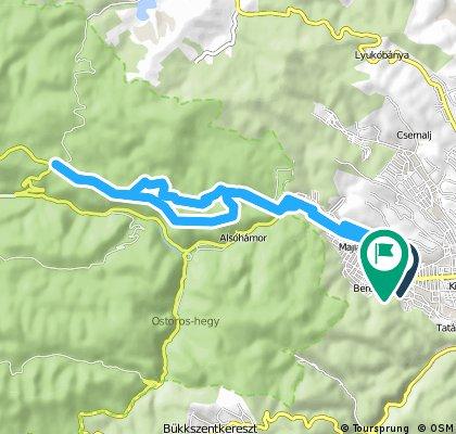 bike tour through Miskolc