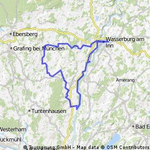 Wasserburg-Pfaffing-Rott-Inn-Runde