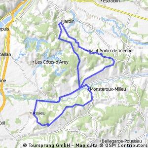 2eme boucle au sud-est de Vienne