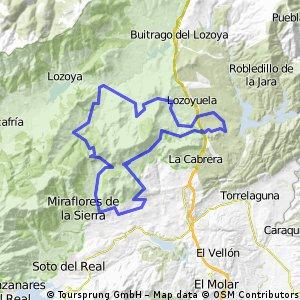 """2008-10-05 MARATON MTB """"Los 88 por parejas"""" - Bustarviejo"""