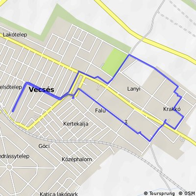 Quick ride through Vecsés