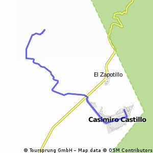 ride from Casimiro Castillo to La Resolana