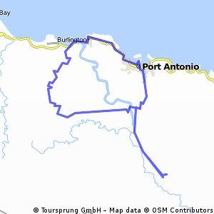 Port Antonio - Moore Town vv