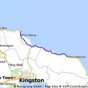 Port Antonio - Port Maria