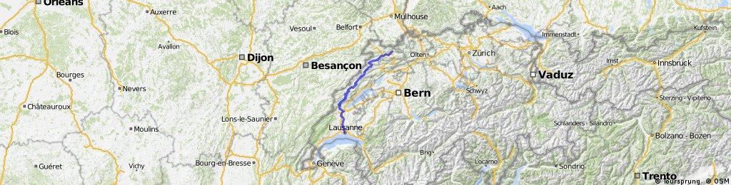 2016 Delemont - Lausanne