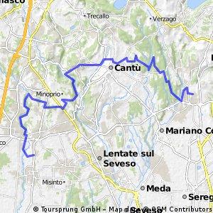 MTB - Lura-Montesordo-Olgelasca-Arosio