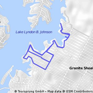 Short ride through Granite Shoals