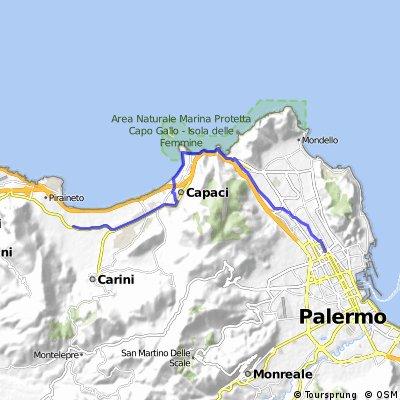 1-Le Catacombe di Villagrazia di Carini (Palermo-Villagrazia di Carini)