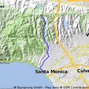 Santa Monica Montanha