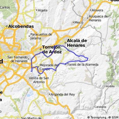 """Ruta Carretera 42: 68 Km 496 m - """"La Campsa y Corpa"""""""